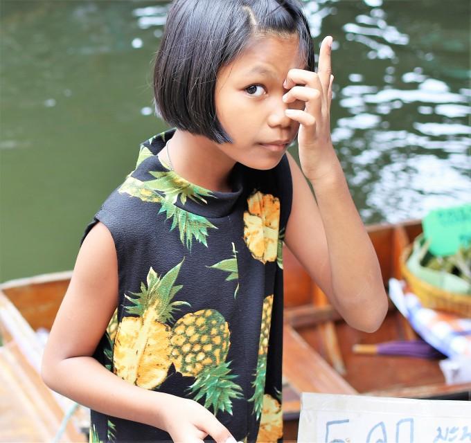 petite fille Bangkok